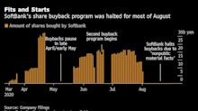 SoftBank's Buybacks Paused in August. So Did Its Stock Rally