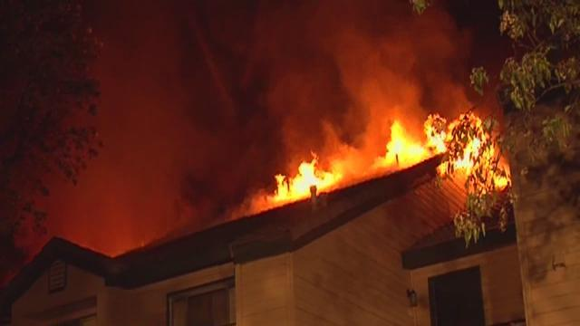 Springs apartment complex fire