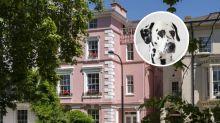 The Real-Life '101 Dalmatians' London Mansion Hits the Market