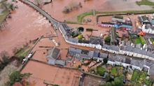 Storm Dennis: Remarkable drone pictures show flooding devastation
