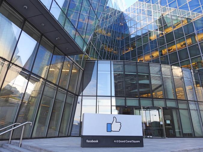 28th January 2019, Dublin, Ireland. Facebook's European headquarters building in Dublin's Docklands.