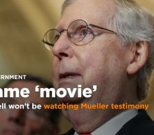 The Latest: McConnell won't be watching Mueller testimony