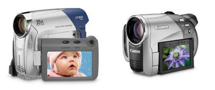 Canon upgrades ZR, DC lines of camcorders
