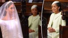 Meghan's mum Doria sat in the second row, here's why