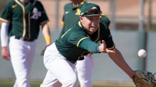 Nick Allen analyzes his development at A's alternate site in Stockton