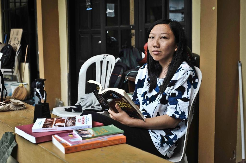 Erwiana now works on behalf of migrant workers (AFP Photo/AGUNG SUPRIYANTO)