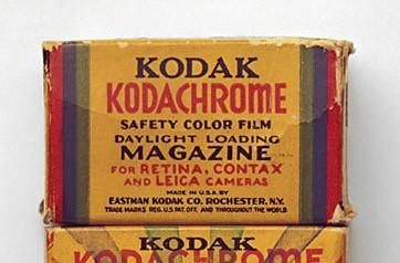 Final roll of Kodachrome processed in Kansas; angel sheds a rainbow-colored tear