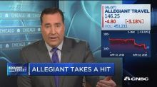 Shares of Allegiant drop after '60 Minutes' report
