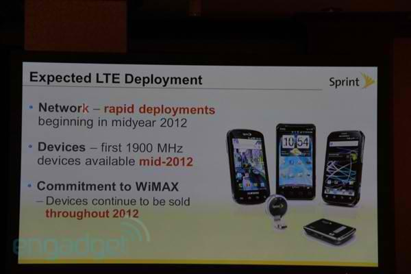 Sprint converts its network to LTE, plans 'aggressive rollout' to be completed by 2013
