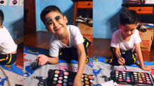 Little Boy Was Inspired by 'RuPaul's Drag Race' to Apply Makeup