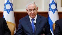 Netanyahu lobbies world powers to stem Iraqi Kurd setbacks