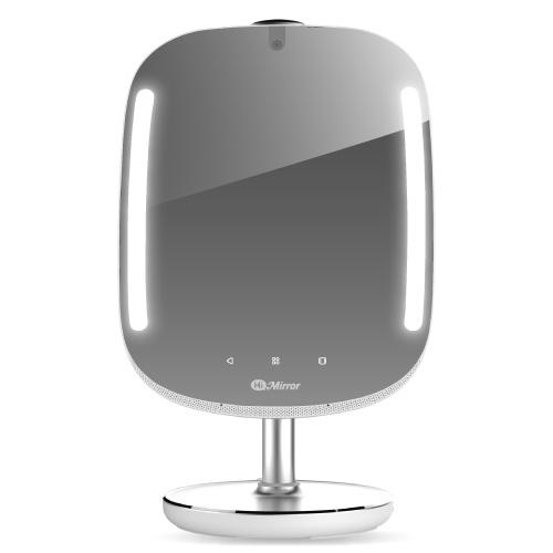 """This isn't just some basic magnified makeup mirror. Power it on and behold your getting-ready bestie. Not only can this smart mirror analyze your skin, so that you can effectively adjust your skin-care regimen, but you can also watch a YouTube tutorial that you'd like to re-create, blast your favorite Spotify playlist, and check the weather—all straight from the device. <em>$119 at <a href=""""https://www.himirror.com/us_en/"""" rel=""""nofollow noopener"""" target=""""_blank"""" data-ylk=""""slk:HiMirror"""" class=""""link rapid-noclick-resp"""">HiMirror</a></em>"""