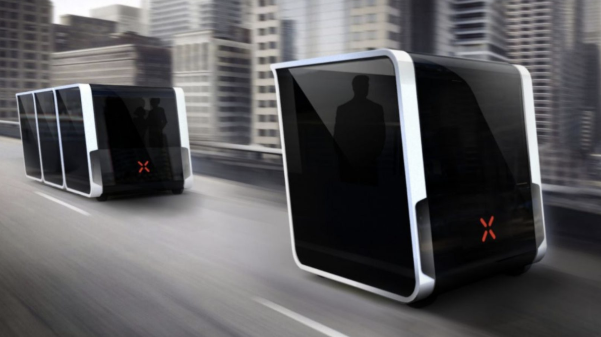 Self-driving modular pods could change the way we travel