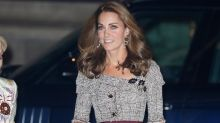 Duchess of Cambridge thrills in off-the-shoulder £1395 Erdem dress