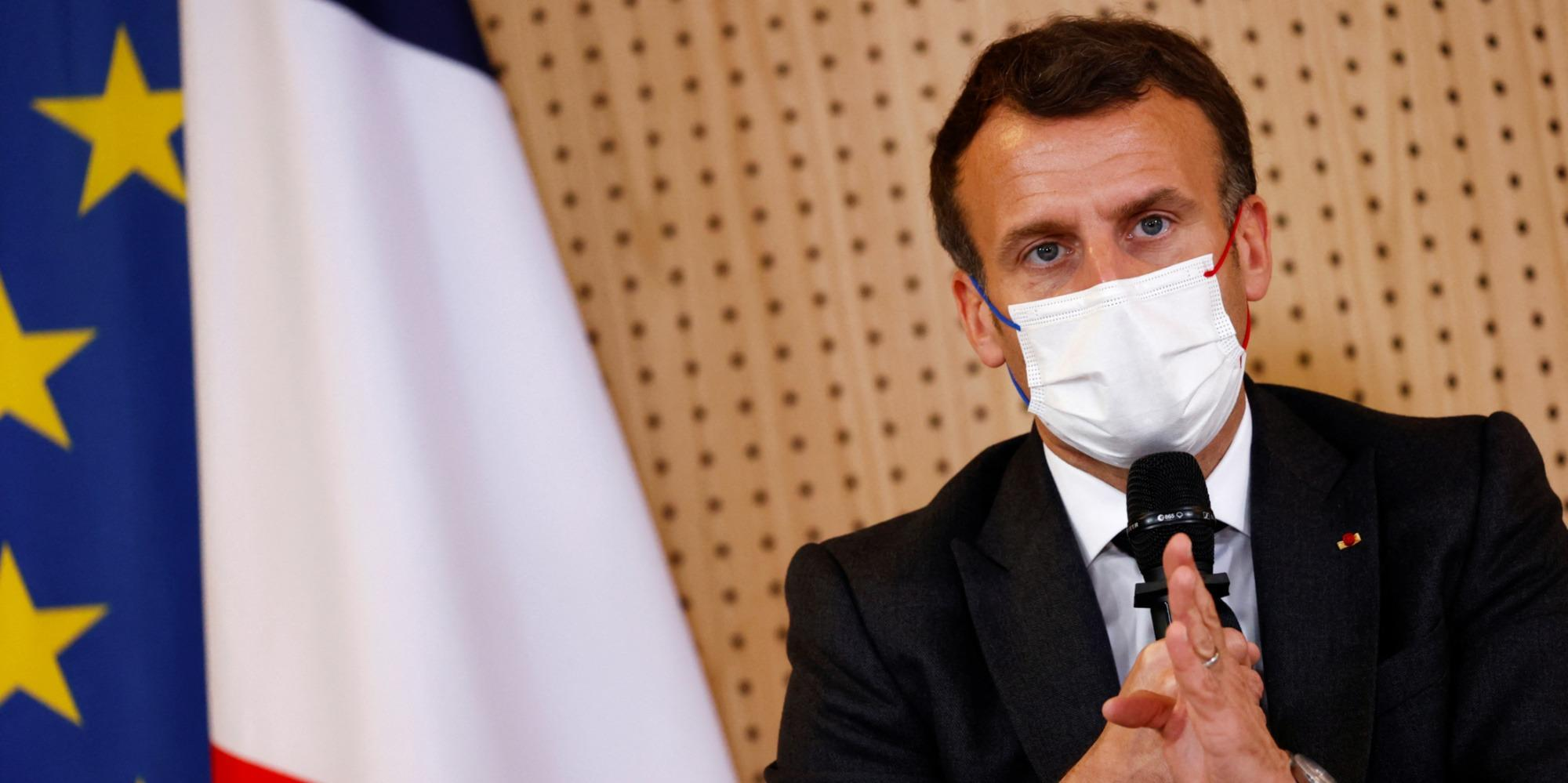 Au Portugal, Emmanuel Macron va parler droits sociaux en Europe, un argument électoral pour 2022