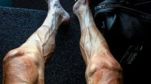 This is what 16 stages of the Tour de France will do to a cyclist's legs