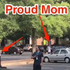 Panthers rookie wide receiver got dropped off by his mom on the first day of training camp
