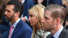 How Ivanka, Don Jr., and Eric Trump Dealt With Their Father's Illness—on Instagram