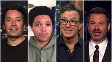 Late night hosts ponder how Trump sees 200,000 U.S. COVID-19 deaths as 'virtually nobody'