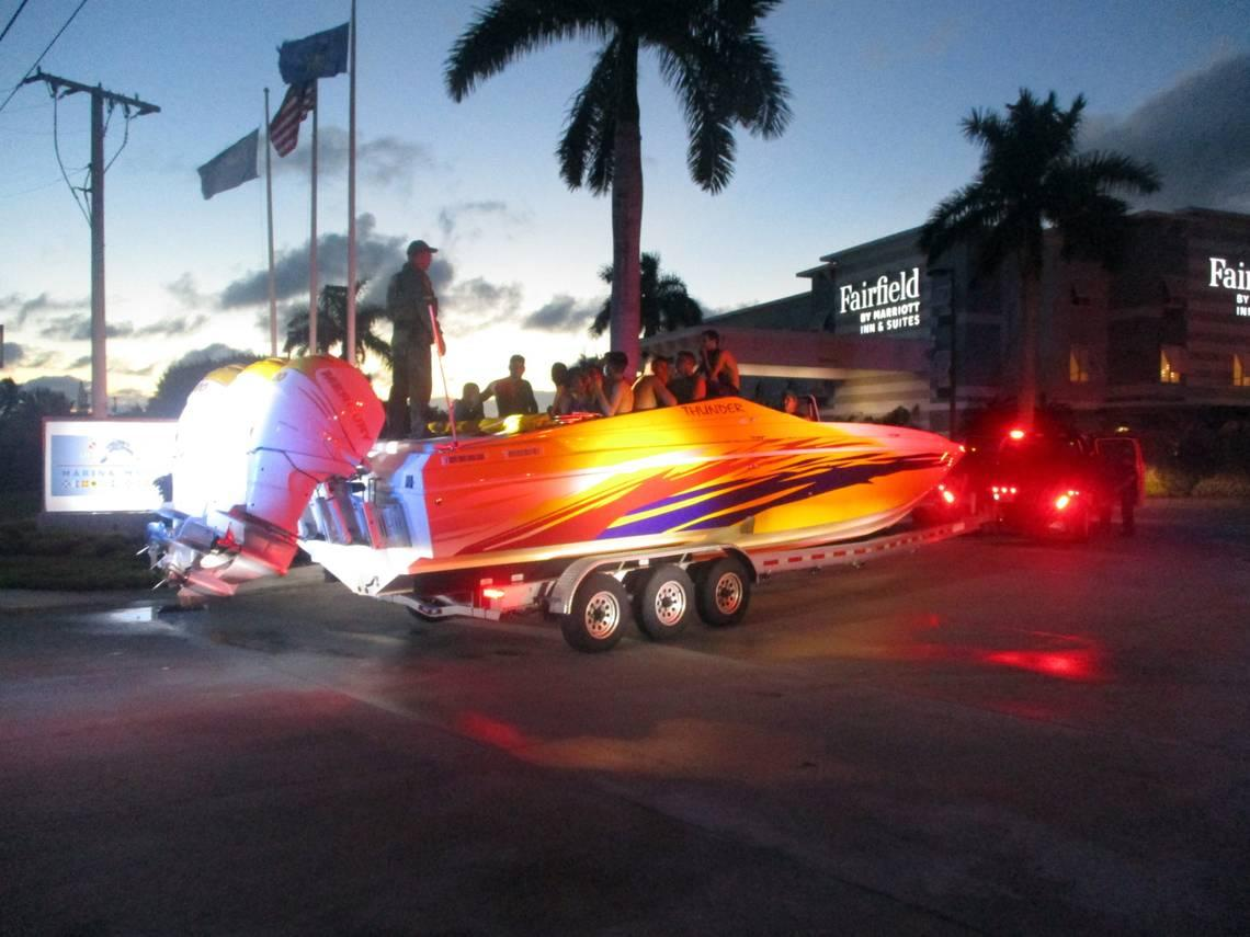 , Deputies stopped a truck hauling a boat in the Keys. They found 32 Cuban migrants inside, The Evepost National News
