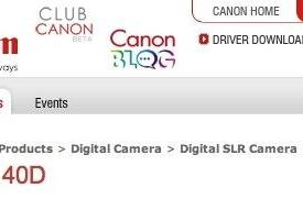 Canon EOS 40D on the way?