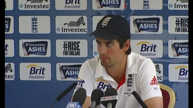 Cook says England now focused on winning Ashes series