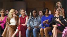 Political slogan tee strikes at NYFW: 'Vote for Cynthia' Nixon