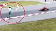 Driver's 'disgusting' act of road rage shocks motorsport world