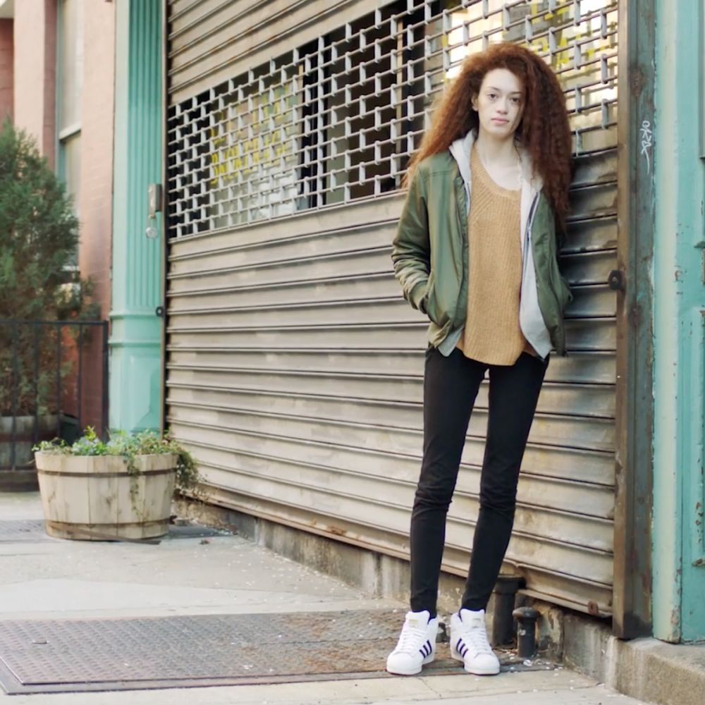 Biracial woman with red hair stirs moving conversation about identity. (Photo: Facebook/Humans of New York)