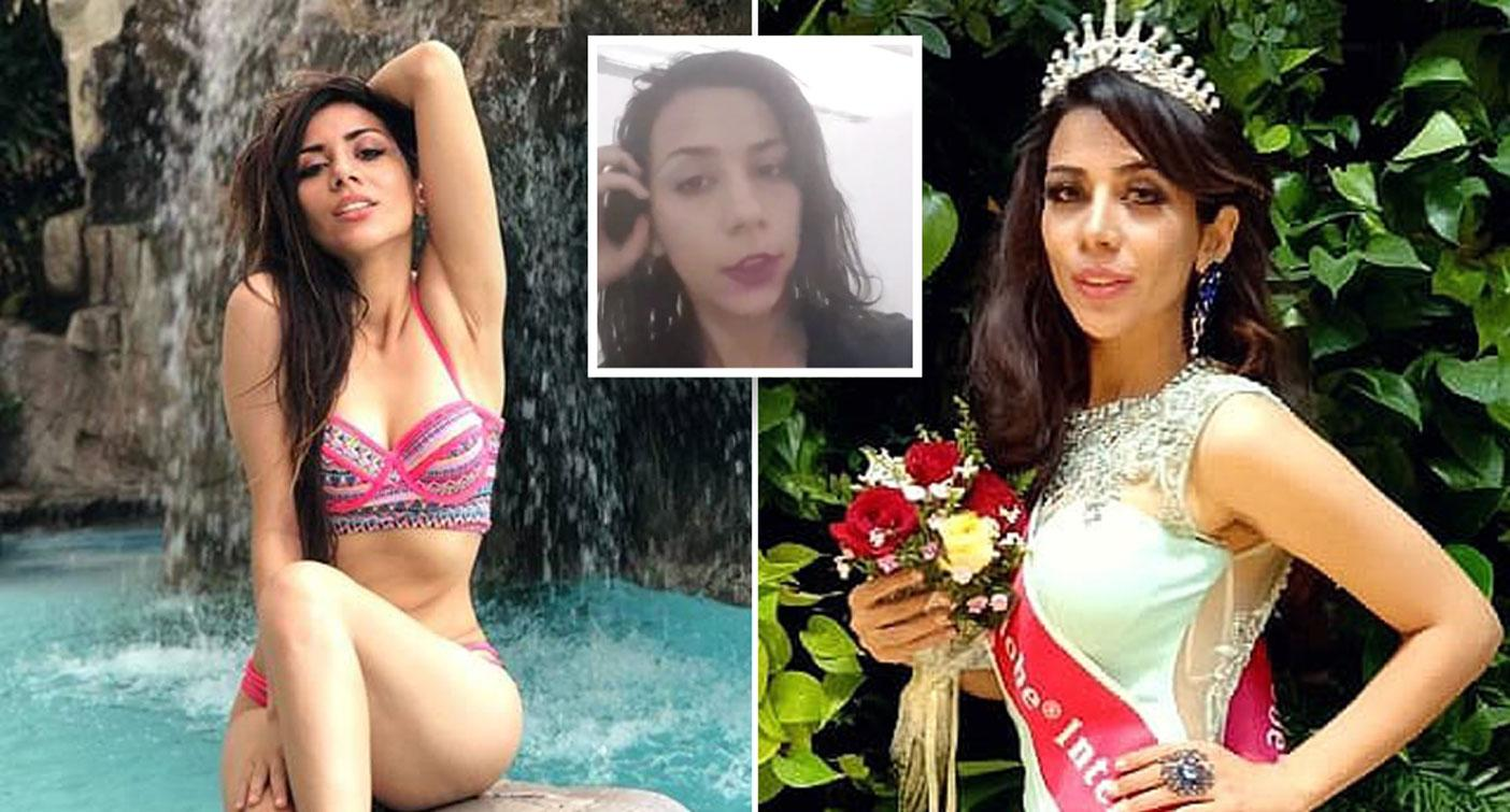 'They will kill me': Beauty queen wanting asylum is desperate not to be sent home