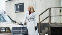 """Armani Outfits Jessica Chastain In """"A Most Violent Year"""""""