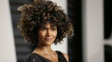 Halle Berry's natural Oscars hair causes controversy
