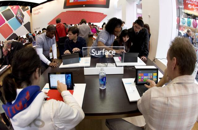 This week in tech history: Microsoft shows us the Surface