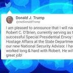 President Trump has a new National Security Adviser, Robert C. O'Brien
