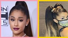Ariana Grande leaves fans speechless with ombré-blonde pigtails