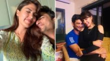 You're the One Who Made Me Believe in Love: Rhea Remembers Sushant