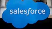 Salesforce sees higher quarterly, FY revenue; shares rise 7%