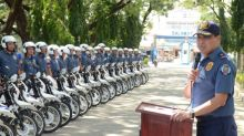 Central Luzon Police Gets New Motorcycles