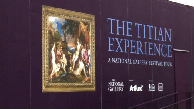National Gallery Tour: un Tiziano itinerante per l'estate inglese