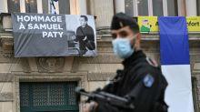 France teacher's killer had 'contact' with jihadist in Syria