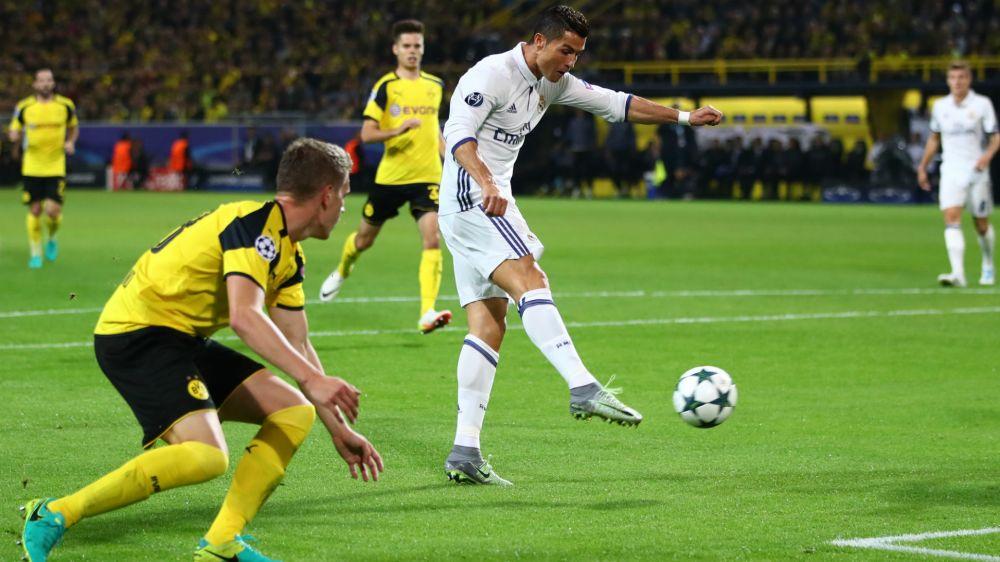 Los jugadores que más rematan al arco en la Champions League