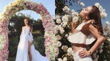 型格又隨性的風格:著名時尚博客 Rumi Neely 結婚了!她的嫁衣是你沒想過的美!