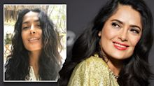 Salma Hayek celebrates ageing by showcasing her grey hair on Instagram
