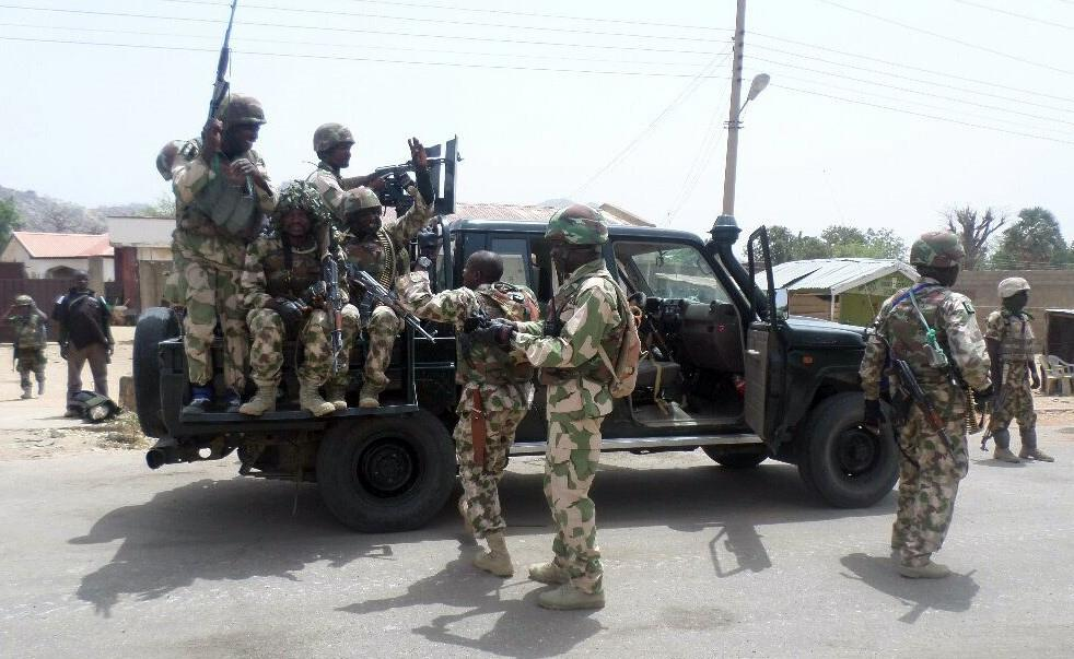 Madagali has long been a hotspot for Boko Haram attacks, despite being liberated from militant control (AFP Photo/NIGERIAN ARMY PRESS SERVICE)