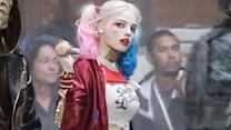 Margot Robbie Is Delightfully Frightening as Harley Quinn on 'Suicide Squad' Set