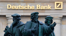 Deutsche Bank CFO denies it had internal talks about a merger with Swiss giant UBS — and calls such reports 'fictions of the press' (DB, UBS)
