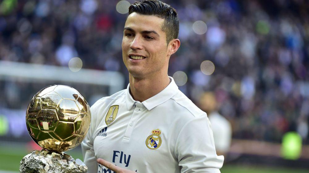 Ronaldo's 2013 Ballon d'Or raises £600k at charity auction