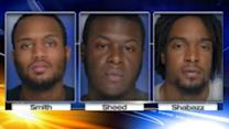 Trio charged in stealing $64K worth of watches