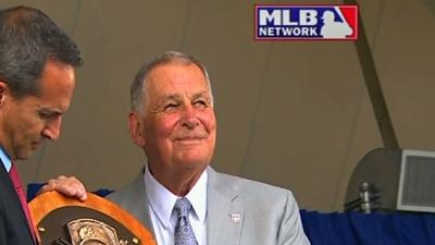 Baseball Hall of Famers Inducted
