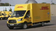 DHL, Ford Unveil Jointly Made Electric Delivery Van
